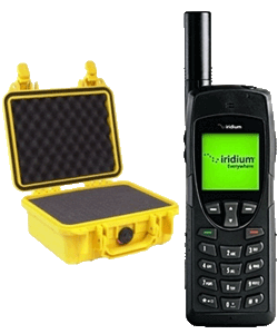 iridium satellite phone rental in Alberta